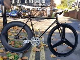 New cinelli mash wotk frameset 54 fixie single speed bike