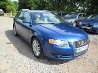 2007 AUDI A4 AVANT 2.0 TDi SE 170--MOT JUNE 2017--full service history-6 SPEED MANUAL