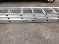 Werner 7 metre ladder