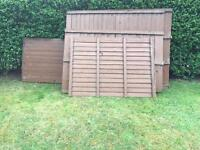Selection of fence panels