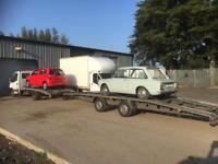 Caravan boat storage