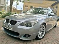 bmw 5 series 530i 3.0 m sport auto estate 2006 panoramic glass roof sat nav top of the range