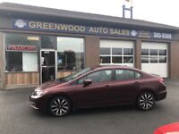 2014 Honda Civic Touring SUNROOF, LEATHER, LOADED *** Located... Annapolis Valley Nova Scotia Preview