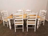 Gorgeous shabby chic table and chairs