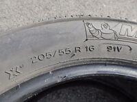 Michelin Energy tyres 16 inch. 205 x 55. R16. 91V