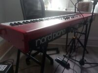 NORD PIANO *BUNDLE* + Case, Stand, Pedal + Cover. Excellent condition. Professional equipment.