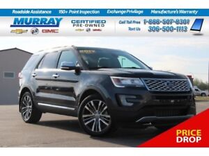 2017 Ford Explorer Platinum 4WD *NAV SYSTEM,SUNROOF,REAR SONAR*