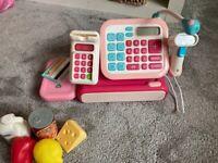 ELC Kids cash machine toy register with microphone & scanner