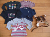 Girls Kids Clothes Bundle 3 - 6 Years - Hat, Long sleeves