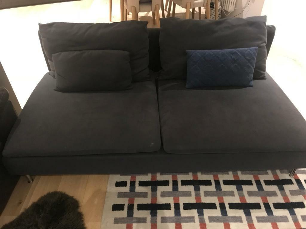 Ikea sofas. The cover can be easily remove and wash.