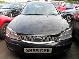 ford mondeo giha x 2.0 automatic 2005 met black with full years mot