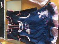 Bundle of girls 0-3 months clothing