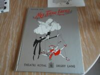 My Fair lady souvenir book and program from Theatre Royal