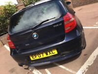 Bmw 1 series 118d, smooth drive. Not audi, Mercedes, Volkswagen, Ford, vauxhall