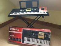 Yamaha YPT-220 digital keyboard with adjustable stand, excellent condition