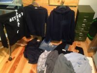 Carhartt , Lyle and Scott, Route One ,Topman clothes