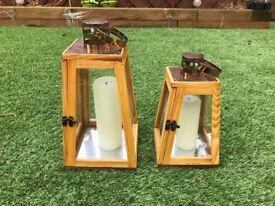 Lantern Candle Holders Outdoor/Indoor
