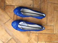 Anna field ballet pumps / flats. Size 38