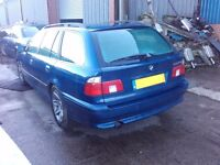 2001 BMW 5 Series 525i E39 M54B25 BREAKING FOR SPARES PARTS Topaz Blue Estate Touring