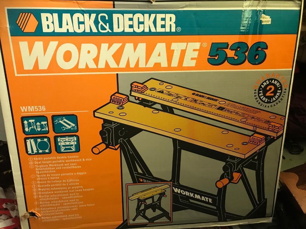 Banco Di Lavoro Black Amp Decker : Black decker workmate in stevenage hertfordshire gumtree