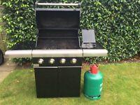 BBQ large Gas 4 burner