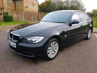 BMW 3 SERIES 320D DIESEL / BLACK / AUTOMATIC / 4 DOORS