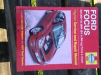 Ford Focus Haines manual