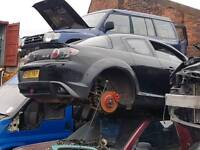 Breaking Mazda rx8 black 2004 bumper also red avalable