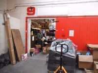 Workshop - Warehouse to let 775 sq ft - Monthly terms - no legal fees, 24 / 7 / access, parking