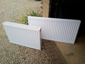 2x radiators
