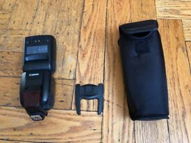 Canon Speedlite 600EX-RT. Mint condition. Have 3 units for sale.