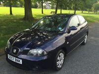 **LOVELY SEAT IBIZA 1.2 3dr BLUE METALLIC** 1 previous OWNER IDEAL FIRST CAR ** CHEAP INSURANCE **