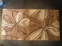 DESIGNER RUG AS NEW CONDITION 5 FOOT X 2 FOOT - 7 INCH