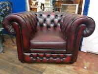 Thomas Lloyd Oxblood Club Chair