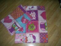 Girls single Duvet Cover and pillow case