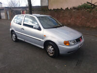 1999(V)VW POLO 1.4 CL AUTOMATIC MET SILVER,EXCELLENT RUNNER,MOT 28/8/2017