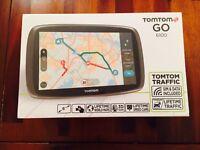 "TomTom Go 6100 6"" Sat Nav GPS Navigation MyDrive Lifetime Traffic World Maps. Brand New"