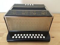 German 8 Bass Diatonic Accordion - C/F