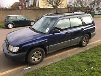 2002 SUBARU FORESTER MOT. TAX WARRANTY