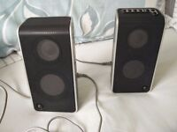 Logitech Laptop/ PC Speakers in Carry Case - Nice Condition