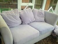 Lilac sofa bed