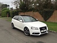 2010 AUDI A3 2.0 TDI BLACK EDITION 5DR MANUAL PANROOF ROTARS 170BHP FULLY LOADED