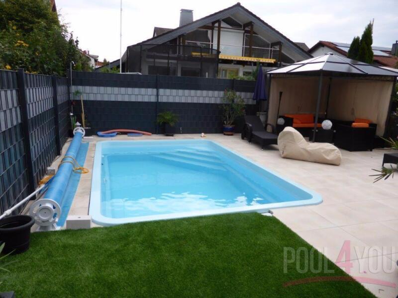 Sale gfk schwimmbecken 5 0x3 2 gfk pool gartenpool for Gartenpool ebay kleinanzeigen