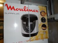 New Moulinex Supralys AKG531 Fryer, unpacked and still in original box