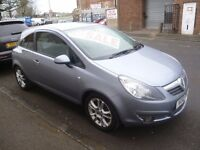 Vauxhall Corsa sxi,1229 cc 3 dr hatchback,1 previous owner,2 keys,full MOT,ideal first car,only 61k