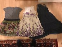 3 x Beautiful 7 - 8 Yr Old Dresses - Clean and Washed