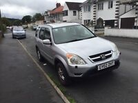 4x4 Automatic Honda CR-V in silver long mot ,ideal 4 the winter px welcome