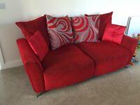 DFS 'Daze' 3 Seater Sofa, Armchair, Swivel Chair & Foot Stool