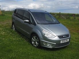 Ford Galaxy Titanium 2.0l 163BHP 2013 FSH, 54,772 miles, lots of features, great condition
