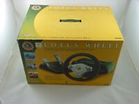BOXED GAMESTER LOTUS STEERING WHEEL FOR XBOX - TESTED/WORKING- EXCELLENT COND